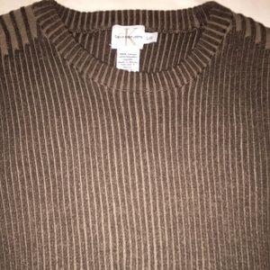 Calvin Klein Jeans sweater brown Large